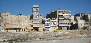 Additional storeys in informal housing in Aleppo