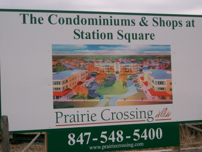 Prairie Crossing sign