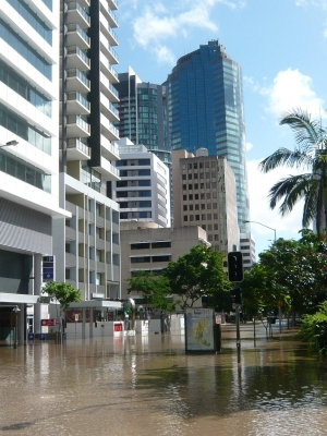 Floods in Brisbane