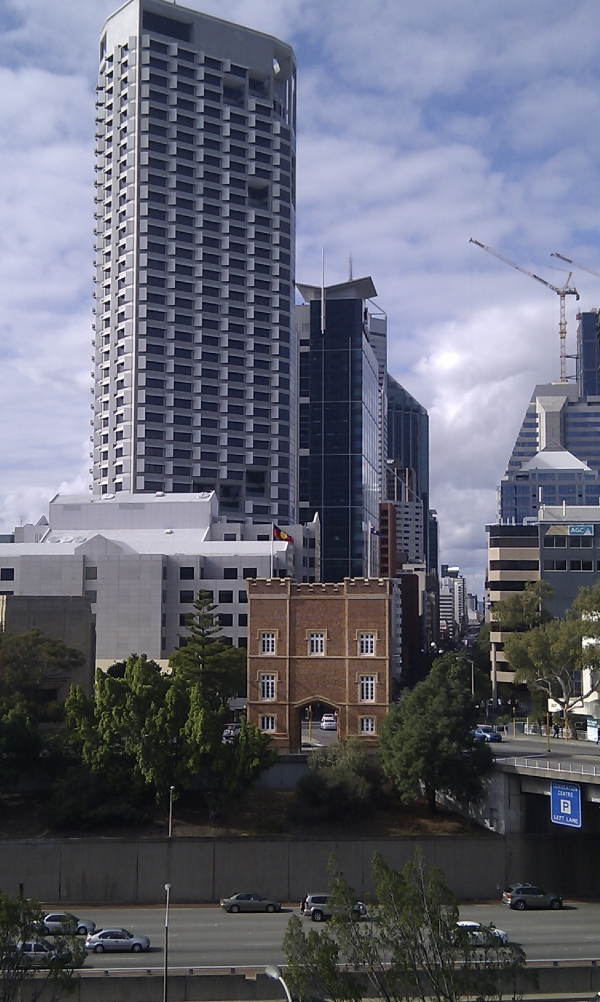 Downtown Perth, WA.