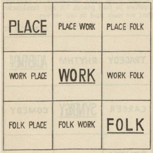 Place-Work-Folk